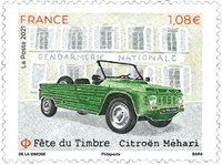 Frankrig - Citroen Mehari - Postfrisk frimærke
