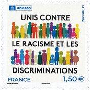 Francia - UNESCO 2021 - Sello nuevo