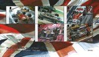 Jersey - F1 British World Champion - Postfrisk miniark