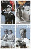 Alderney - Prince Philip - Postfrisk sæt 4v