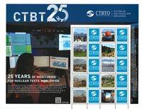 Naciones Unidas - CTBT 25 aniversario - Hoja nuevo