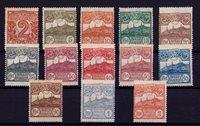 San Marino 1921-1923 - AFA 67-79 - Postfrisk