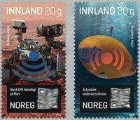 Norge - Teknologi - Postfrisk sæt 2v