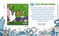 FN Wien - Olympiske lege Tokyo 2020 - Postfrisk miniark