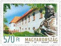 Ungarn - Borsa palads - Postfrisk frimærke