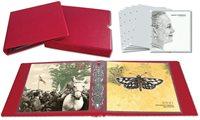 Leuchtturm årsmappealbum, rød inkl. 5 årsmappelommer