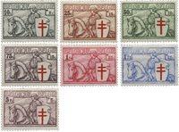 België 1934 - OBP 394-400 - Ongebruikt