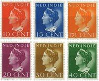 Nederland - Koningin Wilhelmina Konijnenburg 1941 (nr. 274-81, postfrisk)