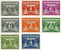 Nederland - Vliegende Duif met watermerk (nr. 169-76, postfrisk)