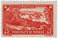 Monaco - YT 123a - Ubrugt