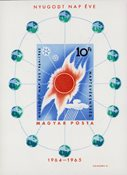 Ungarn 1965 - MICHEL Bl. 46B - Postfrisk