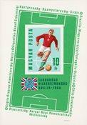 Ungarn 1966 - MICHEL Bl. 53B - Postfrisk