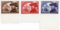 Ungarn 1950 - MICHEL 1142-1144 - Postfrisk