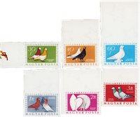 Ungarn 1957 - MICHEL 1505B-1510B - Postfrisk