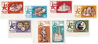 Ungarn 1958 - MICHEL 1519B-1526B - Postfrisk