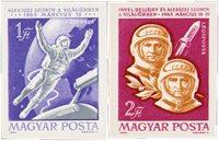 Ungarn 1965 - MICHEL 2120B-2121B - Postfrisk