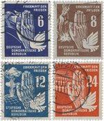 DDR 1950 - MICHEL 276-279 / AFA 109-112 - Stemplet