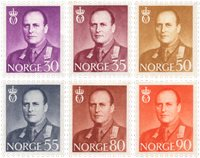 Norge 1959/1960 - AFA 445/450 - Postfrisk