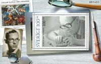 Sverige - Cz. Slania 100 år - Postfrisk miniark