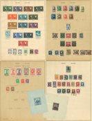 Belgien 1846-1940 - Samling på fortryksblade