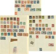 Franske Kolonier 1880-1920 - Samling på fortryksblade