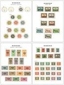 Belgien 1870-1987 - Samling i 1 fortryksalbum