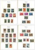 Vatikanet 1949-1987 - Samling i 1 fortryksalbum - Postfrisk