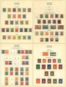Tyskland 1870-1960 - Samling i 1 fortryksalbum