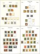 Tyskland 1872-1945 - Samling i 1 fortryksalbum