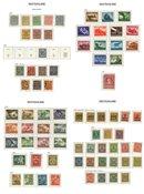 Det Tyske Rige 1872-1945 - Samling i 1 fortryksalbum