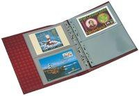 Album Cartes Postales OPTIMA, Classique avec étui de protection+20 Pochettes incluses vert