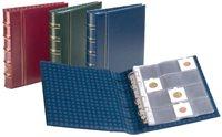 Album cadres pièces de monnaie OPTIMA, design classique +10 Pochettes trans