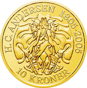 HCA Skyggen 10 kr.guld