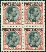 Danemark - Postfaerge 3 - Bloc de 4 neuf