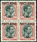 Danmark Postfærge 3 4-blok */***