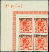 Danmark - Postfærge Ø.M. postfrisk