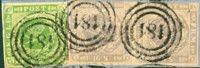 Danmark - AFA nr. 5+2x+6 - brevstykke