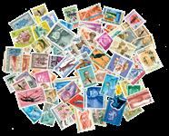 Belgisk Congo - Frimærkepakke - 75 forskellige