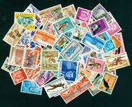 Belgisk Congo - Frimærkepakke - 50 forskellige