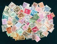 100张不同比利时邮票包