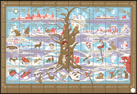 Denmark - Christmas sheet 1960