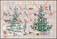 Tanska - vuoden 1961 jouluarkki