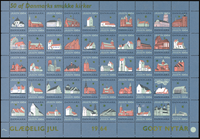 Denmark - Christmas sheet 1964