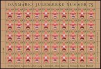 Tanska - 82/78 jouluarkki - päällepainamalla