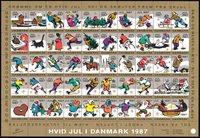Tanska - vuoden 1987 jouluarkki