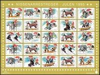Denemarken - Kerstzegels 1995