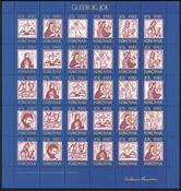 VIGN. DE NOEL ILES FE. 1982 Gravure sur bois