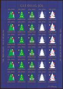 Færøerne Julemærkeark 1990