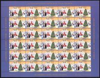 Groenlandia - Viñetas Navidad 2003 dent. e imperf.