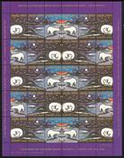 GROENLAND VIGN. DE NOEL 1980 Ours blancs polaires
